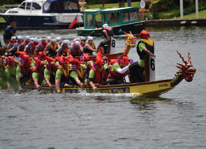 Dragon boats...beyond conception