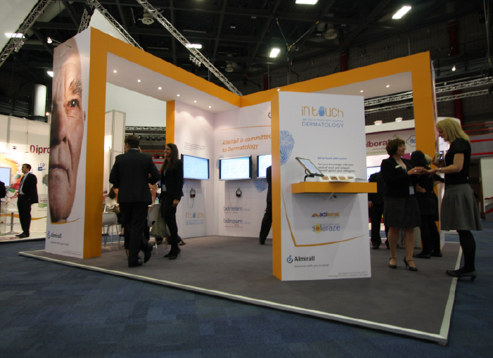 Exhibition Stand Installation : We re immaculate balenum